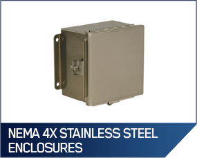 NEMA 4X Stainless Steel Enclosures