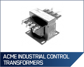 Acme Industrial Control Transformers