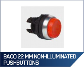 Baco 22 MM Non-Illuminated Pushbuttons