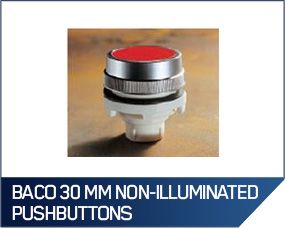 Baco 30 MM Non-Illuminated Pushbuttons