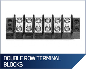 Double Row Terminal Blocks