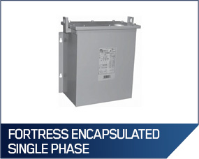 "Hammond ""Fortress"" Encapsulated Single Phase Transformers"