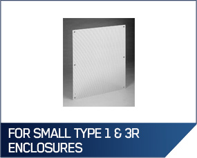 Hoffman Perforated Panels For Small Type 1 & 3R Enclosures