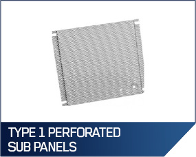 Hoffman Type 1 Perforated Sub Panels