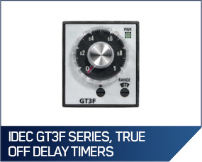 IDEC GT3F Series, True Off Delay Timers