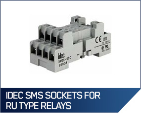 IDEC SMS Sockets For RU Type Relays