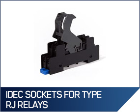 IDEC Sockets For Type RJ Relays