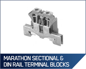 Marathon Sectional & DIN Rail Terminal Blocks