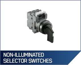 Non-Illuminated Selector Switches