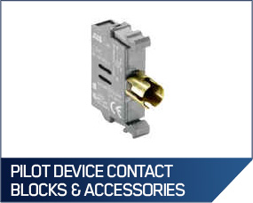 Pilot Device Contact Blocks & Accessories