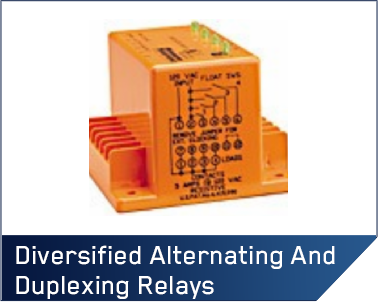 Diversified Alternating and Duplexing Relays