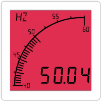 TrueMeter Frequency Meter, Positive LCD