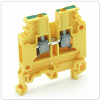 Entrelec 016511316, M4/6 Ground Terminal Block