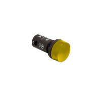 ABB CL-100YF1 One Piece Yellow Pilot Light