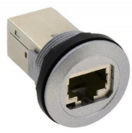 IDEC CW1X-RJ45, Flush Bezel (Black) RJ45 Connection