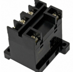 IDEC RL1N-T-A100, 1 Pole, 100-120VAC, Screw Terminal,DIN Rail Mount