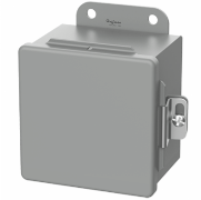"Hoffman A1008CH, 10""8""X4"" NEMA 12 Hinged Cover Enclosure"