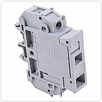 Entrelec 011630223, Gray Fuse-holder terminal blocks
