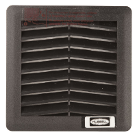 Wiegmann Nema 12 Exhaust Grille With G3 Filter 12.8X12.8 Black