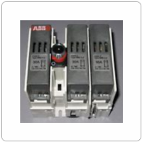 ABB, 3 Pole 30 Amp, 600VAC Fusible Disconnect