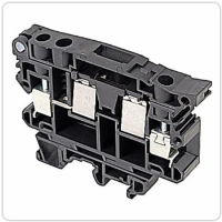 Entrelec 019909513, Black, fuse holder block